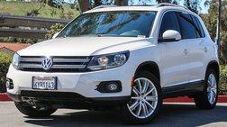 2013 Volkswagen Tiguan SE w/Sunroof & Nav