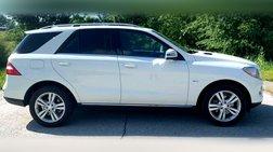 2012 Mercedes-Benz M-Class ML 350
