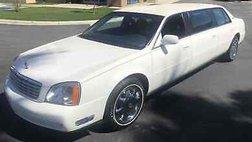 2001 Cadillac DeVille Limo