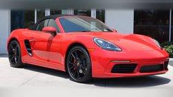2020 Porsche 718 Boxster S