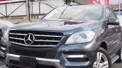 2013 Mercedes-Benz M-Class ML 350 4MATIC