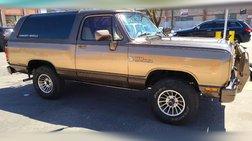 1989 Dodge Ramcharger 150