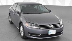 2015 Volkswagen Passat 1.8T Wolfsburg Edition Sedan 4D