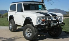 1967 Ford Bronco 4x4 Resto-Mod 5.0 Fuel Injected HP V8