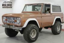 1976 Ford Bronco SPORT 4x4 FUEL INJECTION 5.0L HO PS PB AC