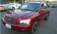 2002 Toyota Highlander Base