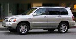 2004 Toyota Highlander Highlander V6