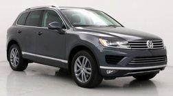 2016 Volkswagen Touareg Lux