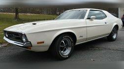 1972 Ford Mustang FIRESTONE HI-SPEED TEST CAR 1,546 ORIG. MILES
