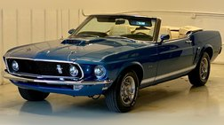 1969 Ford Mustang GT 351ci V8 4 Speed Numbers Matching Documented