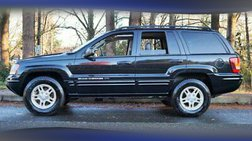 2004 Jeep Grand Cherokee LIMITED 4X4 Suv 4.7L Leather Sun Roof  1 OWNER