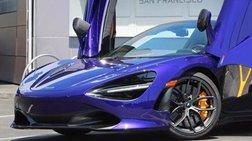 2021 McLaren 720S Spider Performance