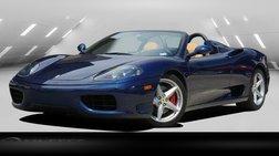 2003 Ferrari 360 SPIDER ONLY 4K MILES TIMING BELT BEEN DONE!