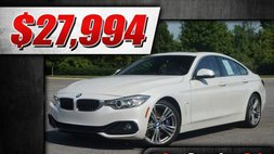 2016 BMW 4 Series 435i Gran Coupe