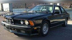 1987 BMW 6 Series 633CSi