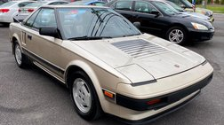 1985 Toyota MR2 Base