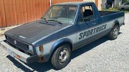1980 Volkswagen Rabbit SPORTRUCK