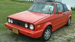 1992 Volkswagen Cabriolet Base