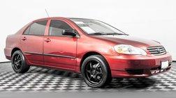 2004 Toyota Corolla FWD