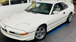 1993 BMW 8 Series -VERY CLEAN CAR - SUPER LOW MILES - SEE VIDEO -