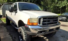 2001 Ford F-250 Lariat SuperCab Short Bed 4WD