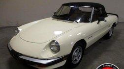 1987 Alfa Romeo Spider Veloce