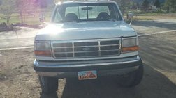 1992 Ford F-250 BLUE AND WHITE