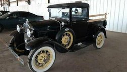 1930 Ford 1930 FORD MODEL A CLOSED CAB PICKUP
