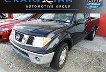 2007 Nissan Frontier BLACK
