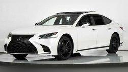 2019 Lexus LS 500 INTERIOR UPGRADE PKG / MARK LEVINSON AUDIO / HEADS