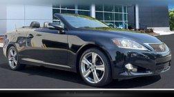 2012 Lexus IS 250C Base
