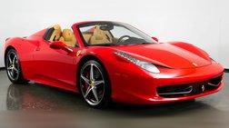 2014 Ferrari 458 Spider Base