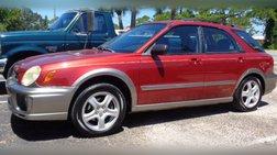 2003 Subaru Impreza Outback Sport