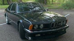 1985 BMW 6 Series