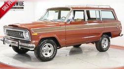 1977 Jeep Wagoneer 4x4! 360 V8 PS PB RARE COLLECTOR CHROME