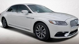 2019 Lincoln Continental Base