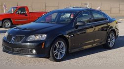 2009 Pontiac G8 w/Bluetooth