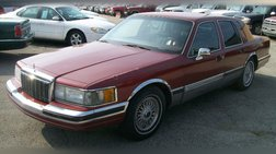 1990 Lincoln Town Car Base