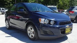2015 Chevrolet Sonic LS Manual