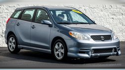 2004 Toyota Matrix XR 2WD