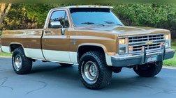 1985 Chevrolet C/K 10 Series K10