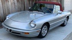 1991 Alfa Romeo Spider Base