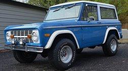 1972 Ford Bronco 302 3SPD 4X4 WAGON
