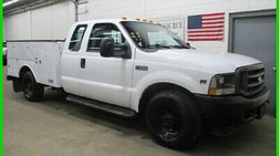 2002 Ford Super Duty F-350 Ext Cab Service Body