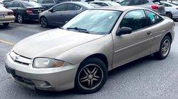 2003 Chevrolet Cavalier Base