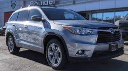 2015 Toyota Highlander Hybrid Limited