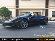 2014 Ferrari 458 Spider Base