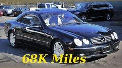 2001 Mercedes-Benz CL-Class CL 600