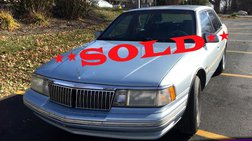 1992 Lincoln Continental Executive