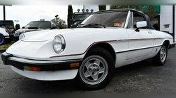 1985 Alfa Romeo Spider Veloce